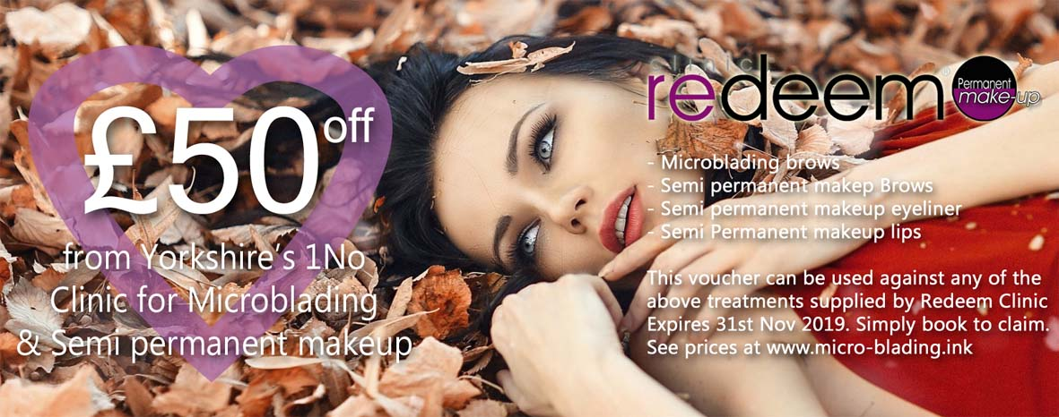 £50 off microblading